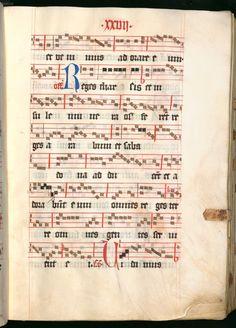 Missale, cum notis musicis et cum figuris literisque pictis Berthold Furtmeyr Clm 23032 [Regensburg], Ende 15. Jahrhundert Folio 27