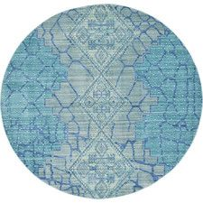 Aria Blue Area Rug