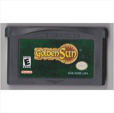 Golden Sun - Nintendo Game Boy Advance GBA - Used 045496731489 on eBid United States