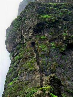 Harihar Fort in Nashik