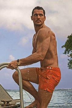 David Gandy - M&S Swimwear Collection 2015 ❤️