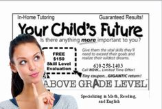 Lehigh Valley, PA Only #math #education #spanish #reading #teachers Limited Time Offer!!