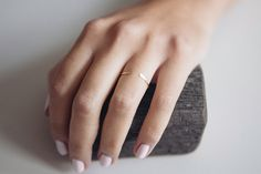 This beautiful open ring is hand made from 14 K gold filled material. Available in 3 sizes, this ring is adjustable to fit you perfectly. Stack with other rings or wear it alone for an effortlessly chic look. This is the perfect little gift for yourself, someone you care about or someone you picked on secret santa! DETAILS __________  0.8mm Ring Band | Hammered | 14K Gold Filled | Adjustable | Made To Order  All my rings are handmade to order and therefore one of a kind.   This ring is…