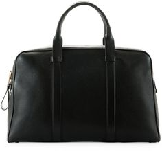 TOM FORD Buckley Leather Duffel Bag, Small