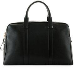 TOM FORD Buckley Leather Duffel Bag, Small