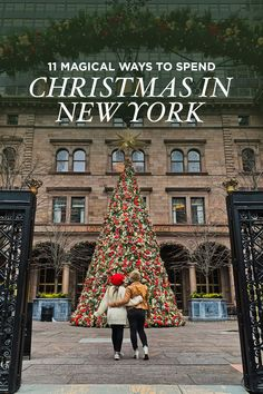 11 Magical Ways to Spend Christmas in NYC What to Do in New York at Christmas – Lotte New York Christmas Tree Local Adventurer christma christmas hellowinter magical NYC spend Ways wintercity winterdesign winterhome winterinspiration winterinstagra New York Christmas Tree, Christmas Travel, Holiday Travel, Christmas Vacation, Christmas Trips, Christmas Markets, New York Winter, Winter In Nyc, New York Vacation