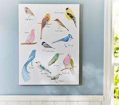 jenni kayne bird wall art | pottery barn kids