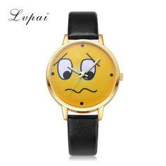 Lvpai Brand Casual Women Leather Watches Fashion Gold  Dress Clock Quartz Wrist Watch For Ladies Girls Female Gift Watch Clock #Affiliate