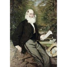 William Cullen Bryant 1868 Frank Buchser (1828-1890 Swiss) Oil on canvas National Gallery of Art Washington DC USA Canvas Art - Frank Buchser (18 x 24)