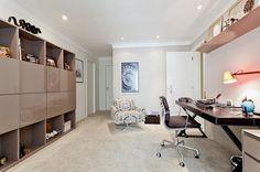 Home office assinado por Sesso & Dalanezi Arquitetura+Design.