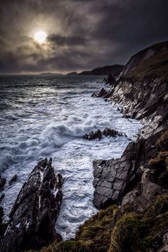 Slea head drive. Dingle peninsula. County Kerry, Ireland