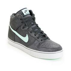 Nike Dunk High LR Anthracite, Medium Mint & Neutral Grey Shoe