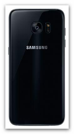 Samsung Galaxy S7 Edge Smartphone von hinten