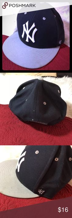 b1754acde73 Shop Men s 47 size OS Hats at a discounted price at Poshmark. Description  47  Forty Seven Brand MLB NEW YORK YANKEES Fancy Baseball Cap Hat Unique.