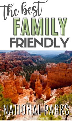 These are the best family-friendly national parks in the US. Take your family to these fun, budget-friendly park destinations for your next family vacation. These spots are prefect for vacations with kids with lots to see and do. You'll want to add each of these to your bucket lists and mark your calendars for your next trip! Don't miss out on these top family travel destinations in the USA! #family #familytravel #familyvacation #vacationideas #vacationdestination #familyfun #travelwithkids Volcano National Park, Grand Canyon National Park, Yellowstone National Park, National Parks, Best Family Vacations, Family Vacation Destinations, Family Travel, Travel Destinations, Bright Angel Trail