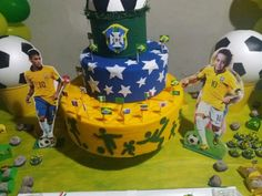 Birthday Cake, Desserts, Food, World Cup, Soccer, Brazil, Party, Ideas, Tailgate Desserts