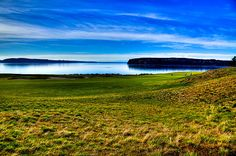 #Golf #USopen #2 At Chambers Bay Golf Course - Location Of The 2015 U.s. Open Tournament