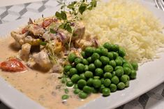 Viktväktarrecept Lchf, Risotto, Potato Salad, Potatoes, Fish, Ethnic Recipes, Boards, Sup Boards, Potato