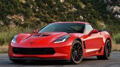 2015 Chevrolet Corvette Z06 front 3/4 view