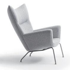 havana sessel wohnzimmer ohrensessel softline filz & kupfer | for ... - Danish Design Wohnzimmer