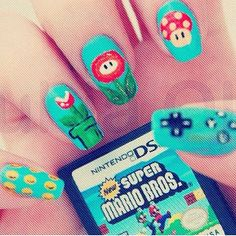 Another gaming #nails
