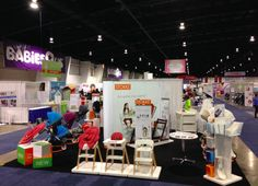 Stokke Booth at Baby Time Expo at International Centre in Toronto  April 2014