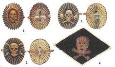 Russia - Officer Badges of Stormtroops (ударных частей) Eastern Europe, World War I, Wwi, First World, Poster, Symbols, Military Uniforms, History, Badges