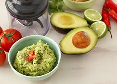 Quick zesty guacamole: Fresh and full of flavour the perfect dip, sandwich spread or delicious dolloped over grilled chicken and seafood.