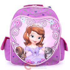 Disney Sofia The First School Backpack 12