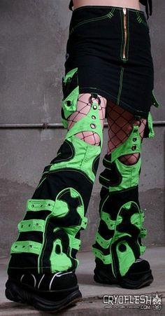 Cyberpunk Skirt with Legs - Alienus Skirt II from Cryoflesh.com (already own)