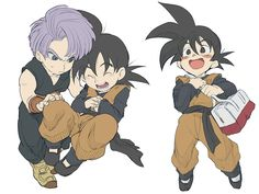 悟天和特南克斯 Goten and Trunks(七龍珠 DRAGON BALL Z)~ by Umintsu