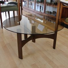 TH Brown Propeller Coffee Table. South Australia, Nest, Dining Table, Coffee, Brown, Modern, Furniture, Home Decor, Nest Box