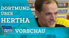 Dortmund über Hertha - Tuchel - Hertha BSC - Berlin - 2016 #hahohe