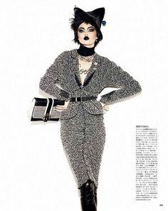 Vogue Japan November 2013 Editorial - Lindsey Wixson