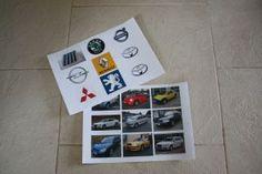 Přiřazování znaků k autům