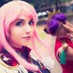 "cospixnet: "" #NewconPDX Minicon was this past Saturday. Just a small, chill, single day event. As such, we didn't do much there, but we did do this #Utena #Cosplay photo shoot!! """