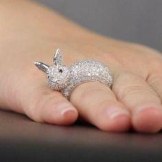 bunny ring - so cute!