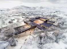 ArchiPlan Wins Competition to Design Kim Tschang-Yeul Art Museum (有点土土的少女气又有点骚)