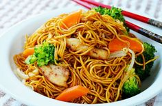 Stir Fry Chicken Noodles ????