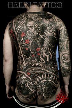 Hailin Fu tattoo ART www.facebook.com/... @Hailin Tattoo