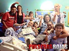 ¡#PulserasRojas bajo la dirección de Michelle Alexander!