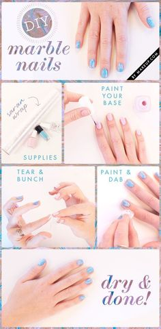 A day at the nail salon is a great way to spend a lazy afternoon, but sometimes you have to take your nail art design into your own hands! These are the best easy manicure tutorials that you can do at home with  just nail polish and patience!