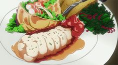 Another anime food blog