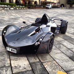 Magnificent All black BAC MONO!