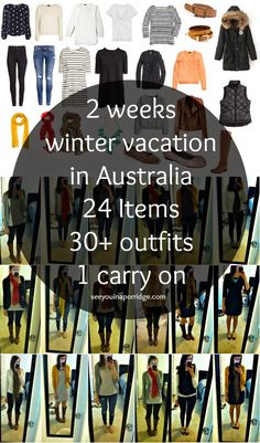 See You In A Porridge: Packing for Winter in Australia: 2 Weeks in a carry on