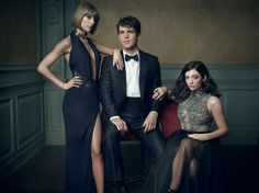 Inside Mark Seliger's 2016 Oscar Party Portrait Studio // Taylor Swift, Austin Swift, and Lorde at the Vanity Fair Oscar 2016 Party Taylor Swift Web, Taylor Alison Swift, Fashion Fotografie, Mark Seliger, Portrait Studio, Annie Leibovitz, Mode Editorials, Glamour, Vanity Fair Oscar Party