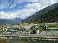 Paro International Airport of The Land of Happiness! #bhutan #drukair #bhutanairlines #airport #visitbhutan Contact us: www.bhutanhospitalitytravels.com