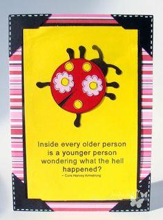 SOLD ~ funny birthday card