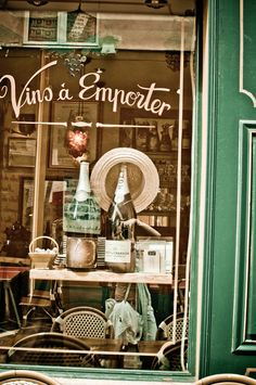 Rustic French Wine Shop
