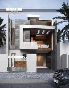 Design Discover Most 50 Beautiful House Design For 2020 - Engineering Discoveries Duplex House Design House Front Design Cool House Designs Modern House Design House Elevation Building Elevation Dream Home Gym Aesthetic Rooms Container House Design Modern Small House Design, Modern Villa Design, Modern Exterior House Designs, Dream House Exterior, Cool House Designs, 2 Storey House Design, Duplex House Design, House Front Design, Modern Bungalow House
